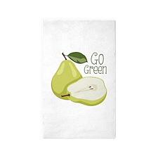 Go Green 3'x5' Area Rug