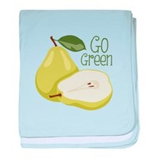 Go Green baby blanket