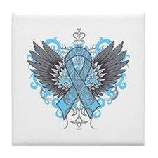 Behcet Disease Wings Tile Coaster