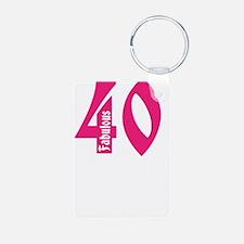 Fabulous 40 Keychains