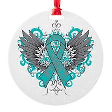 Batten Disease Wings Ornament