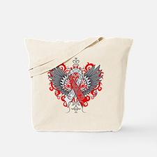 Aplastic Anemia Wings Tote Bag