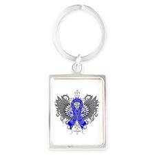 Ankylosing Spondylitis Wings Portrait Keychain