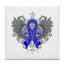 Ankylosing Spondylitis Wings Tile Coaster
