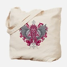 Amyloidosis Wings Tote Bag