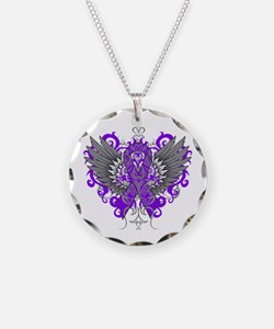 Alzheimer's Disease Wings Necklace