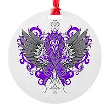 Alzheimer's Disease Wings Ornament