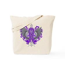 Alzheimer's Disease Wings Tote Bag