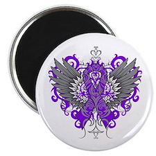 Alzheimer's Disease Wings Magnet