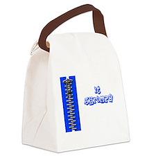 zip it shrimpy Canvas Lunch Bag