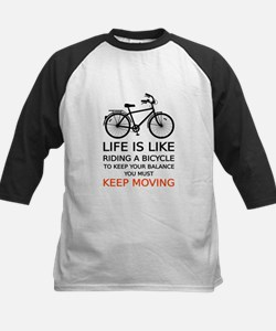 life is like riding a bicycle, word art, text Base