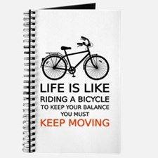 life is like riding a bicycle, word art, text Jour