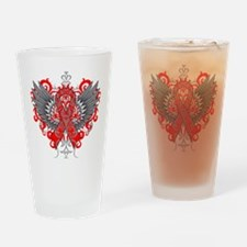AIDS Wings Drinking Glass