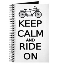 keep calm and ride on word art, text design Journa