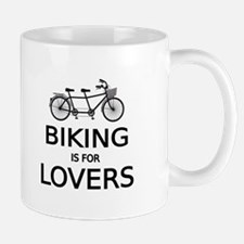 biking is for lovers Mugs