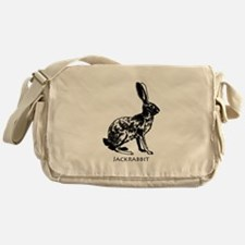 Jackrabbit (illustration) Messenger Bag