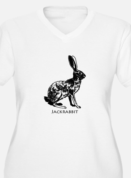 Jackrabbit (illustration) Plus Size T-Shirt