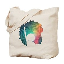 Radical Self-Expression Logo Tee Tote Bag