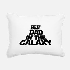 BEST DAD IN THE GALAXY Rectangular Canvas Pillow