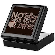 No Coffee, No Talkie Keepsake Box