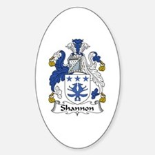 Shannon Oval Decal