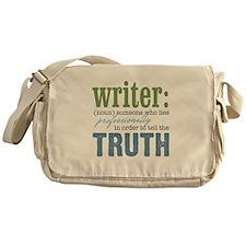 Writers Truth Messenger Bag