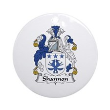 Shannon Ornament (Round)
