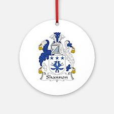 Shannon Ornament (Round)