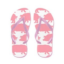 Cute Rednecks Flip Flops