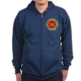 Civil war Zip Hoodie (dark)
