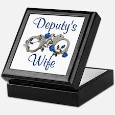 Deputy's Wife Keepsake Box