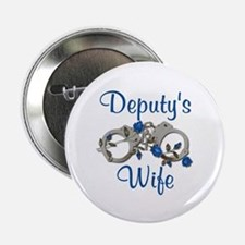 Deputy's Wife Button