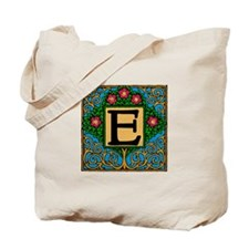 Topiary Monogram E Tote Bag