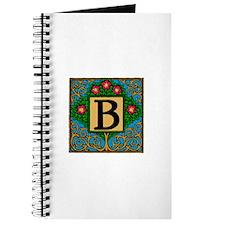 Topiary Monogram B Journal