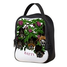 Fruit Bat Neoprene Lunch Bag
