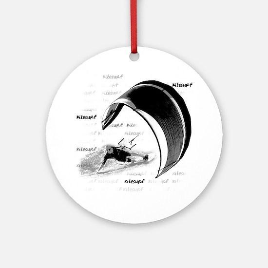 Kitesurf (Light) Ornament (Round)