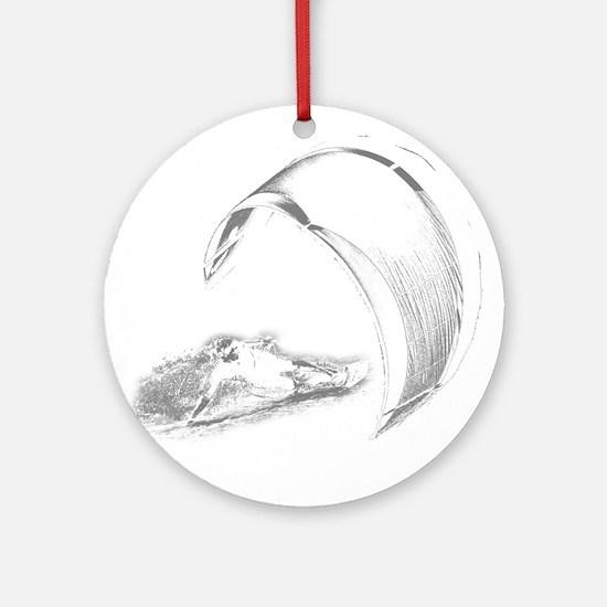 Kitesurf (Dark) Ornament (Round)