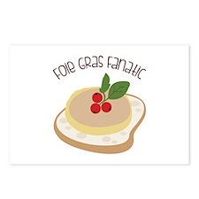 Foie Gras Fanatic Postcards (Package of 8)
