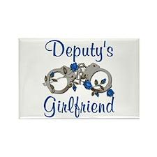 Deputy's Girlfriend Rectangle Magnet