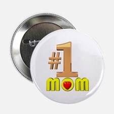 I Love You Mom Button