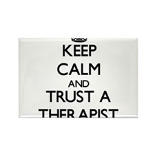 Keep Calm and Trust a arapist Magnets
