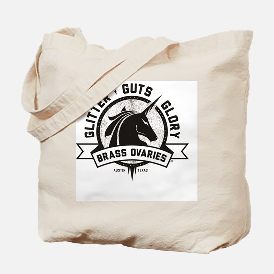 Glitter Guts Glory Tote Bag