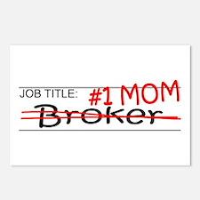 Job Mom Broker Postcards (Package of 8)