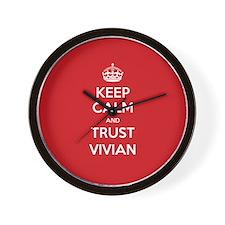Trust Vivian Wall Clock