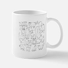 Too Many Cats Mugs