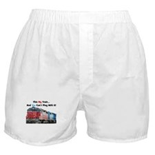 This is My Train BEST Boxer Shorts