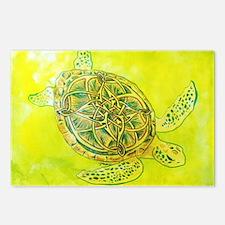 Celtic Knotwork Turtle Postcards (Package of 8)