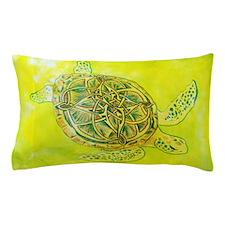 Celtic Knotwork Turtle Pillow Case