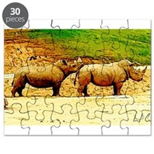 Chin Rest Puzzle