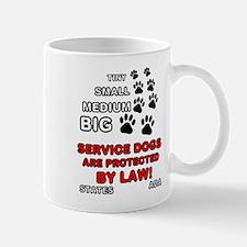 Unique Service dog Mug